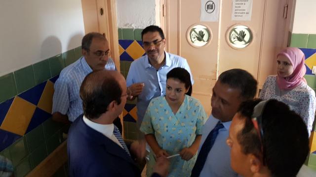 Visite Anas Doukkali hôpital de Tanger-4