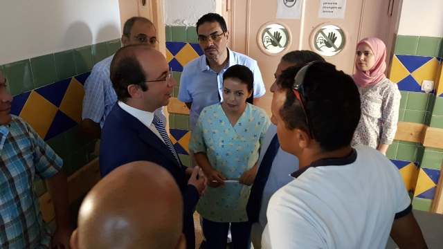Visite Anas Doukkali hôpital de Tanger-5