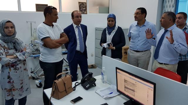 Visite Anas Doukkali hôpital de Tanger-6