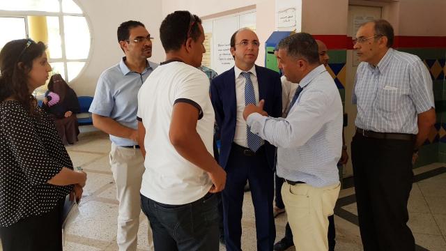 Visite Anas Doukkali hôpital de Tanger-7