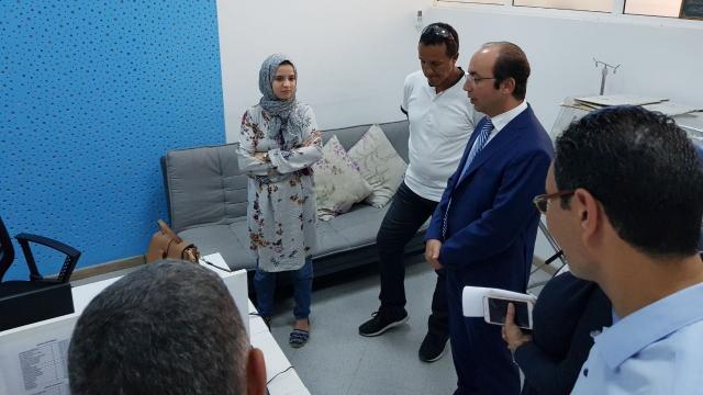 Visite Anas Doukkali hôpital de Tanger-1