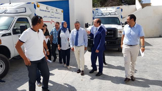 Visite Anas Doukkali hôpital de Tanger-2