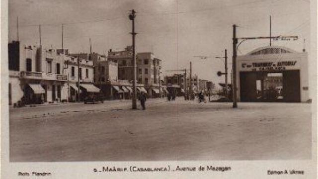 L'histoire du Maarif - Avenue de Mazagan