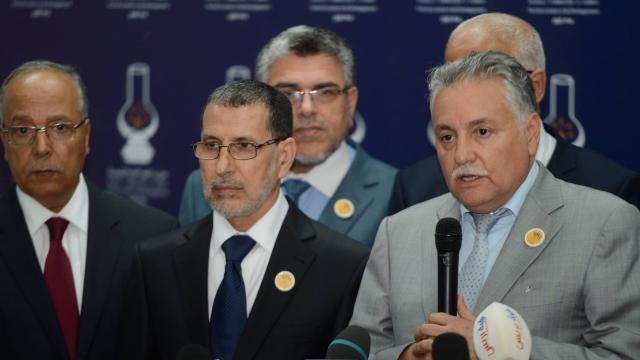 El Othmani et Nabil Benabdallah