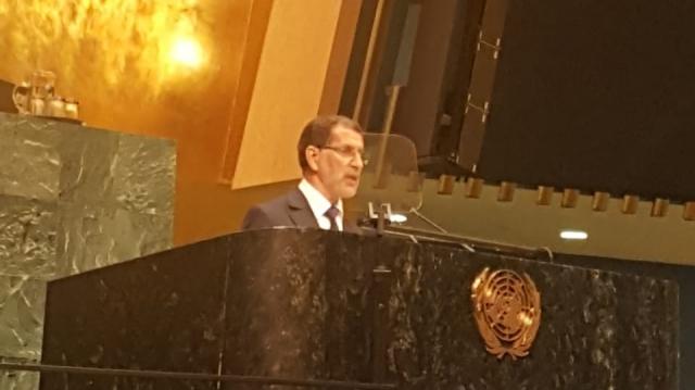Devant l'ONU, El Othmani fait endosser à l'Algérie la responsabilité du conflit du Sahara marocain