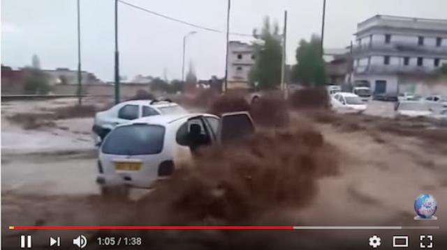 Inondations algériens