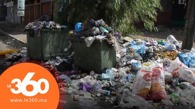 cover vidéo: Le360.ma •Casa noyée dans ses déchets