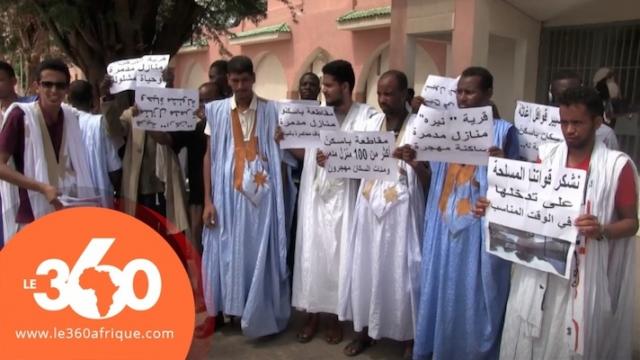Mauritanie inondations