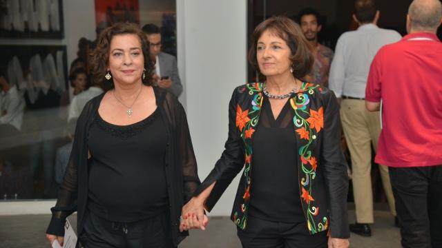 Aicha Amor et Najia Mehadji
