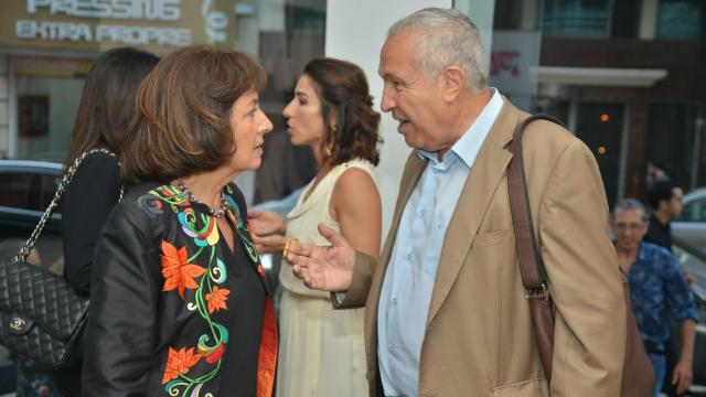 Najia Mehadji et Hassan Alaou