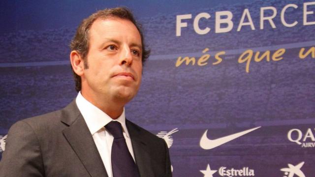 Sandro Rosell Barcelone