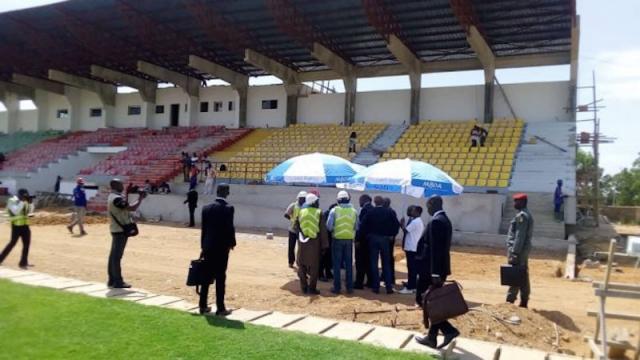 Diapo. Cameroun: les experts de la Fifa et de la CAF passent la sécurité au peigne fin