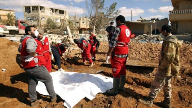 Libye: découverte d'un charnier dans un ancien baston de Daech