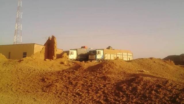 Camions sahraouis
