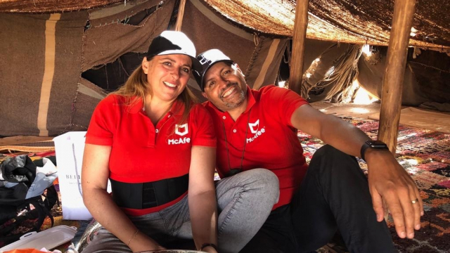 Karima et Hamza Gazelles & men rally