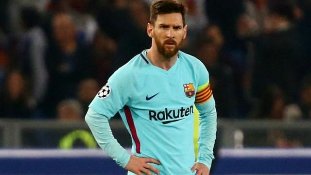 Lionnel Messi en colère