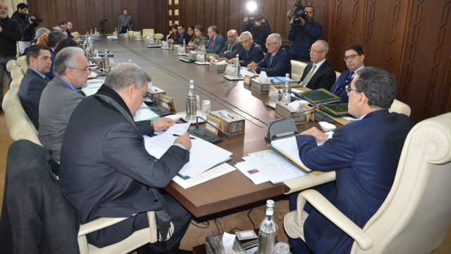 conseil des ministres Othmani