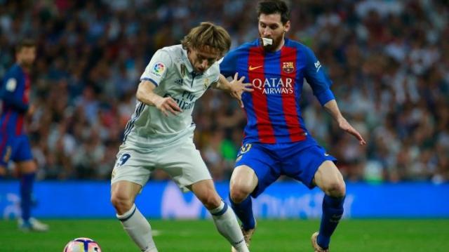 Modric et Messi