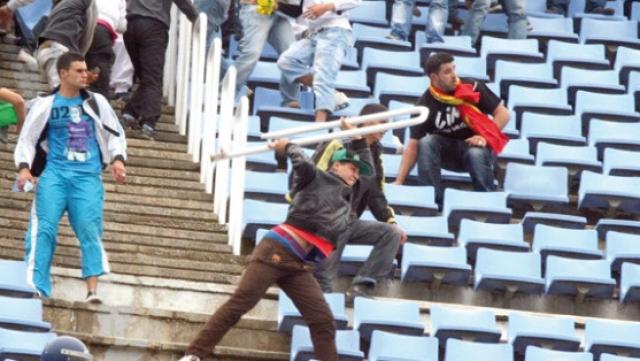 violence stade Algérie