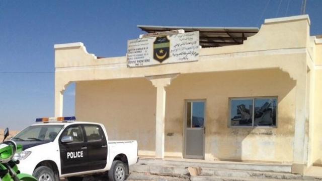 Poste-frontière Mauritanie-Algéroe