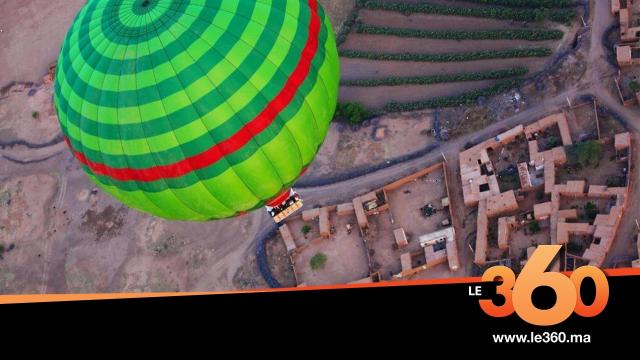 Cover le Maroc en Montgolfière 1