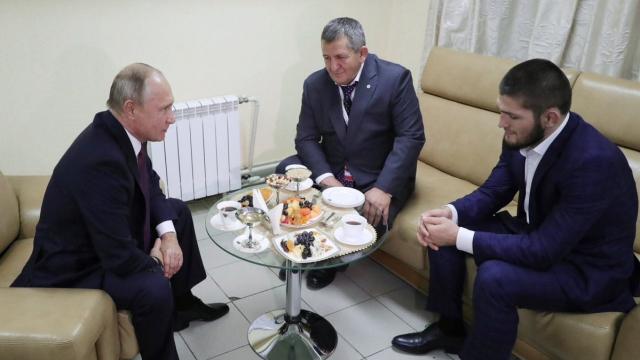 Khabib et Poutine