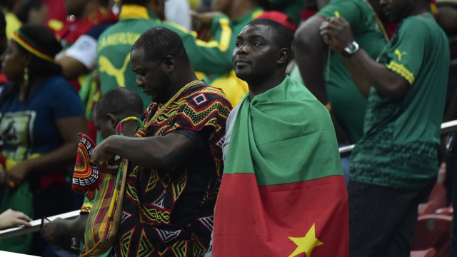 supoporters Cameroun