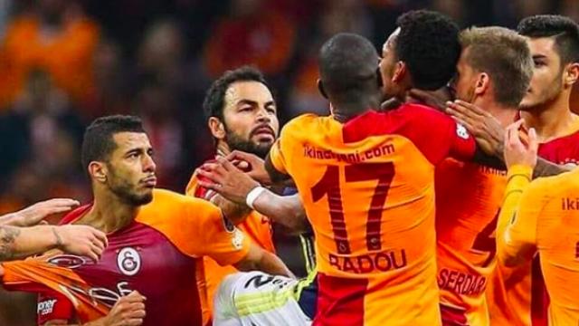 Bagarre foot Galatasaray Fenerbahce Belhanda