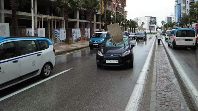 Accident Boulevard Mohammed VI-Tanger1