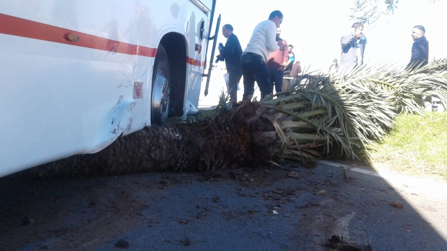 Accident Tanger-11 novembre2