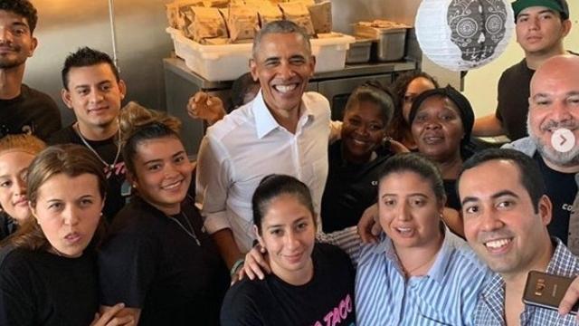 Barack Obama- Fast food