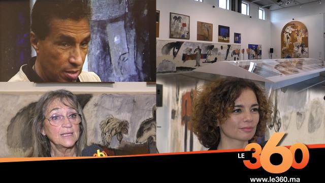 Cover_Vidéo : Le360.ma •Important hommage au peintre Mohammed Kacimi à Marseille