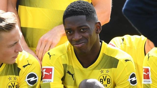 Dembélé à Dortmund