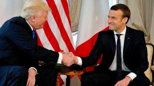 Trump-Macron: rencontre orageuse en vue