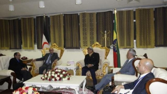Brahim Ghali à Addis-Abeba