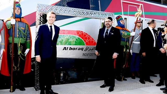 LGV Mohammed VI et Macron-7