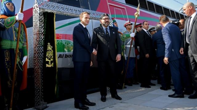 LGV Mohammed VI et Macron-6