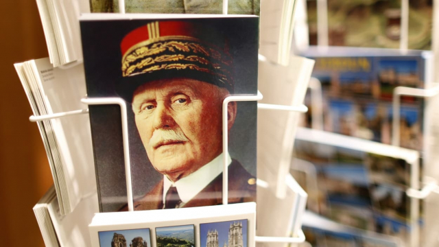 Le maréchal Pétain.