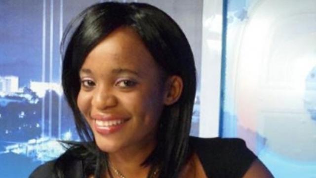 Mimi Mefo, journaliste d'une chaîne de radio et de télévision privée à Douala