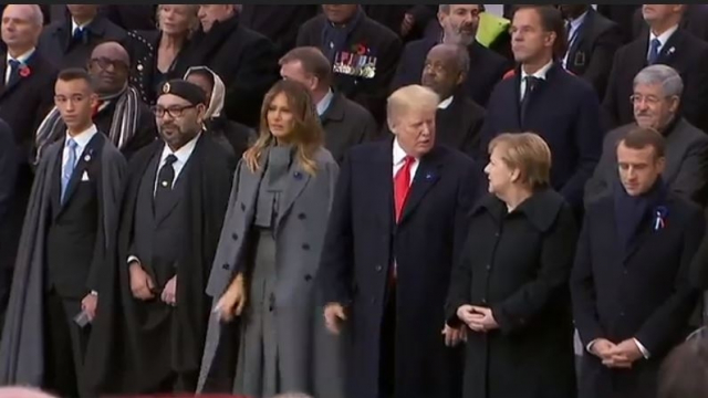 Mohammed VI à l'Elysée-1
