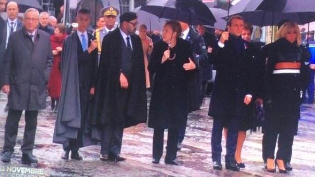 Mohammed VI à l'Elysée-3
