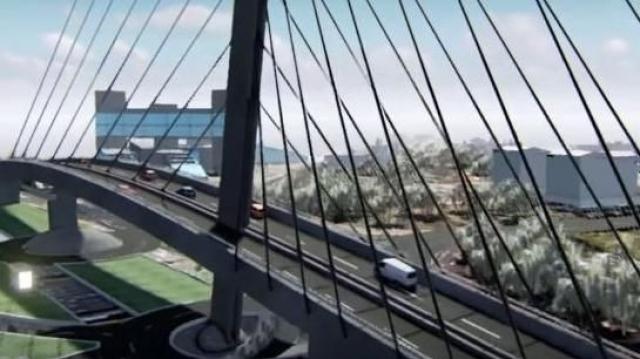 Casablanca pont à haubans