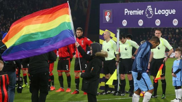 La premier league aux couleurs LGBT