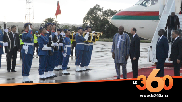 cover vidéo:Le360.ma •وصول رئيس بوركينا فاسو الى طنجة