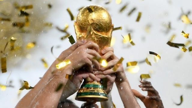 trophée coupe du monde Russie