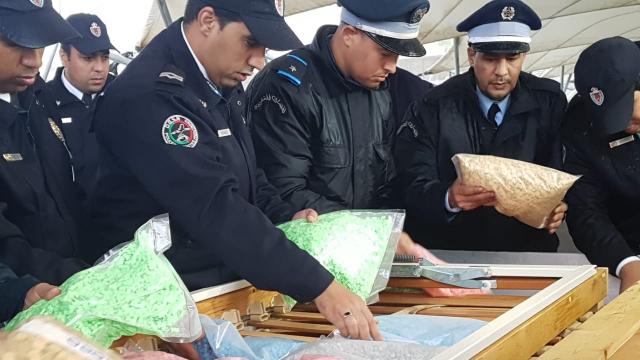Saisie Record de comprimés d'Ecstasy au port de Tanger-Med 4