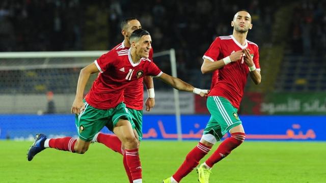 Hakim Ziyech Maroc-Cameroun