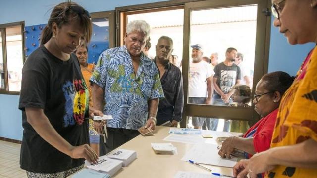 Referendum en Nouvelle-Calédonie