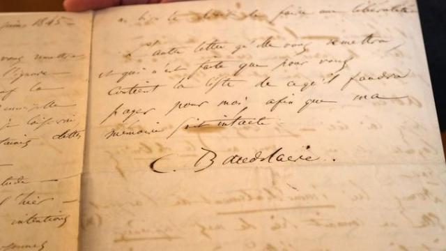 Lettre de suicide de Charles Baudelaire