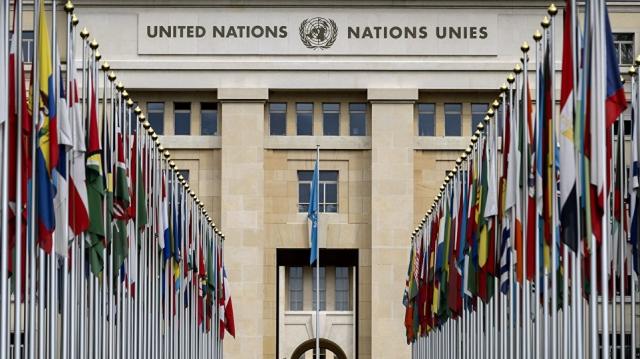 Siège des Nations Unies à Genève.